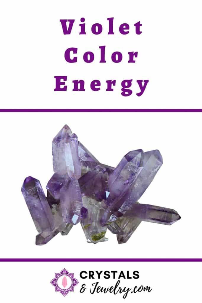 Violet Color Energy