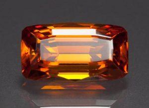 A marvelous piece of Zincite stone