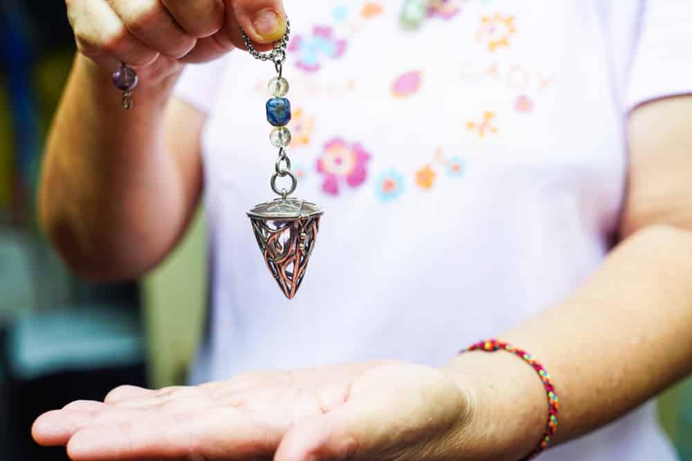 Using a pendulum