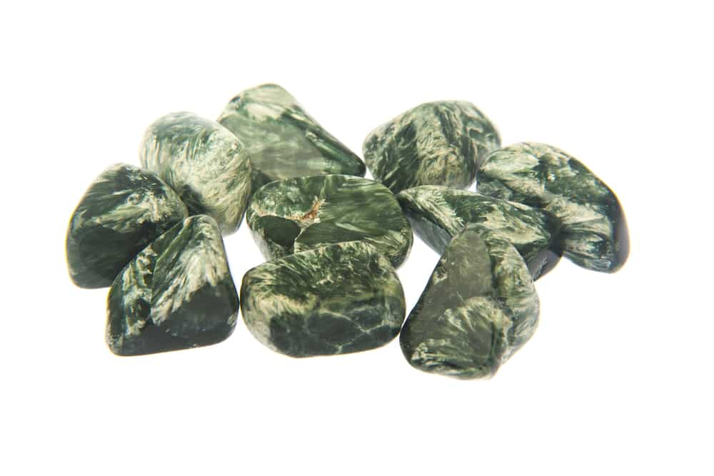 Seraphinite Polished Stones Crystal