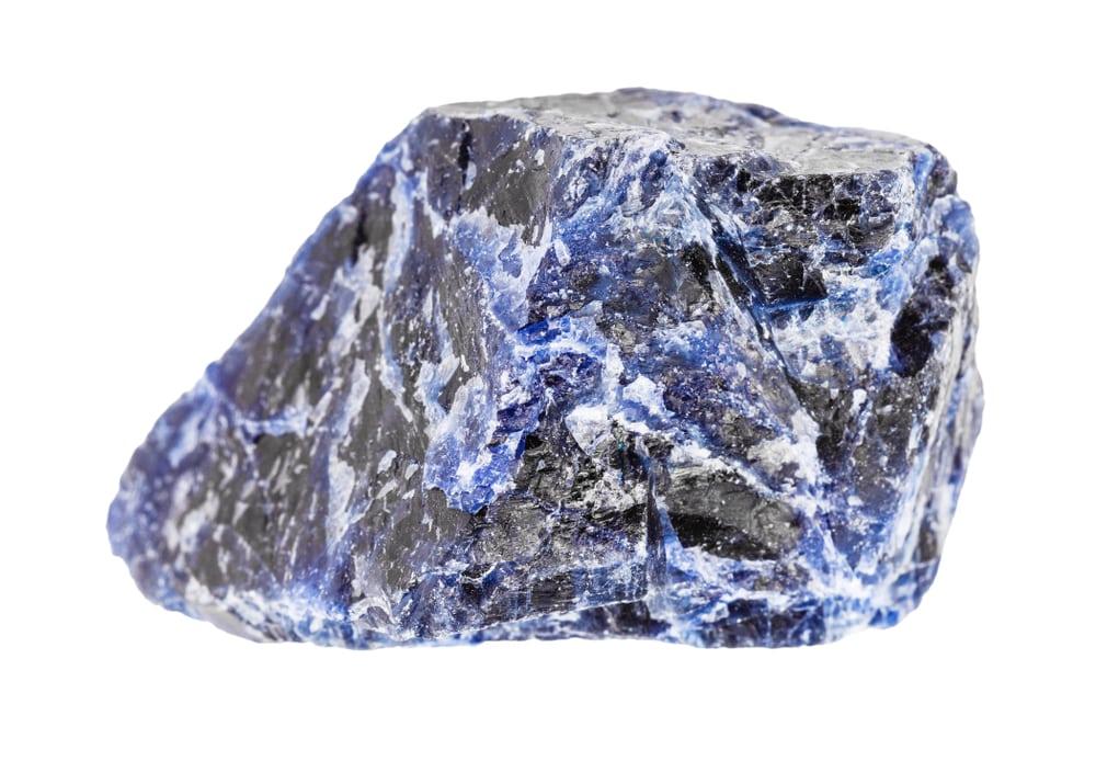 Raw Sodalite Stone Crystal