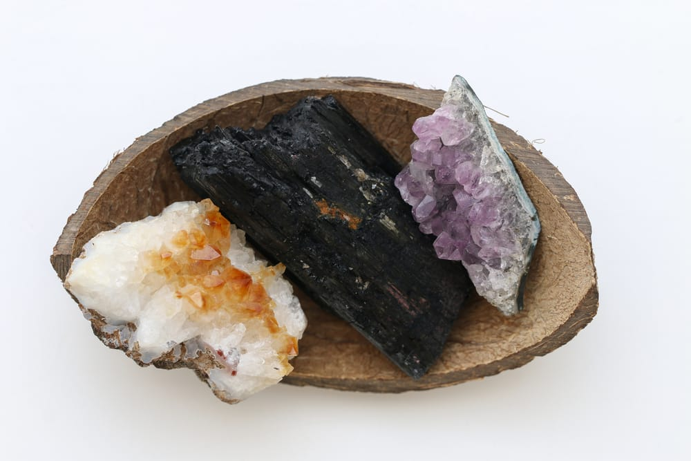 Black Tourmaline Amethyst Citrine Crystal Cleanse