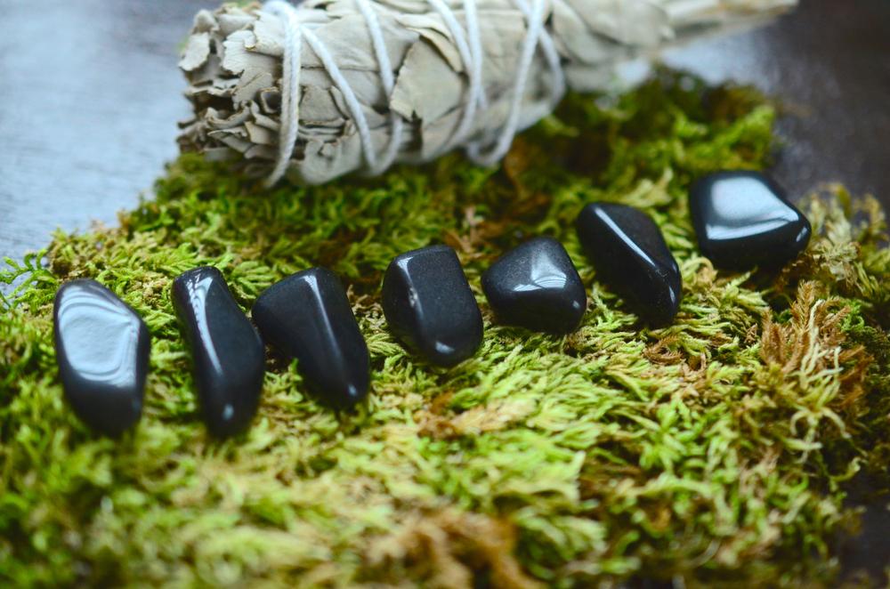 Apache Tears Obsidian