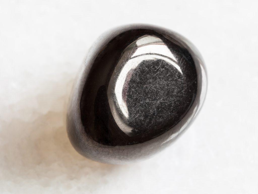 Tumbled Jet Stone