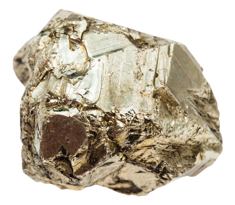 Uncut pyrite