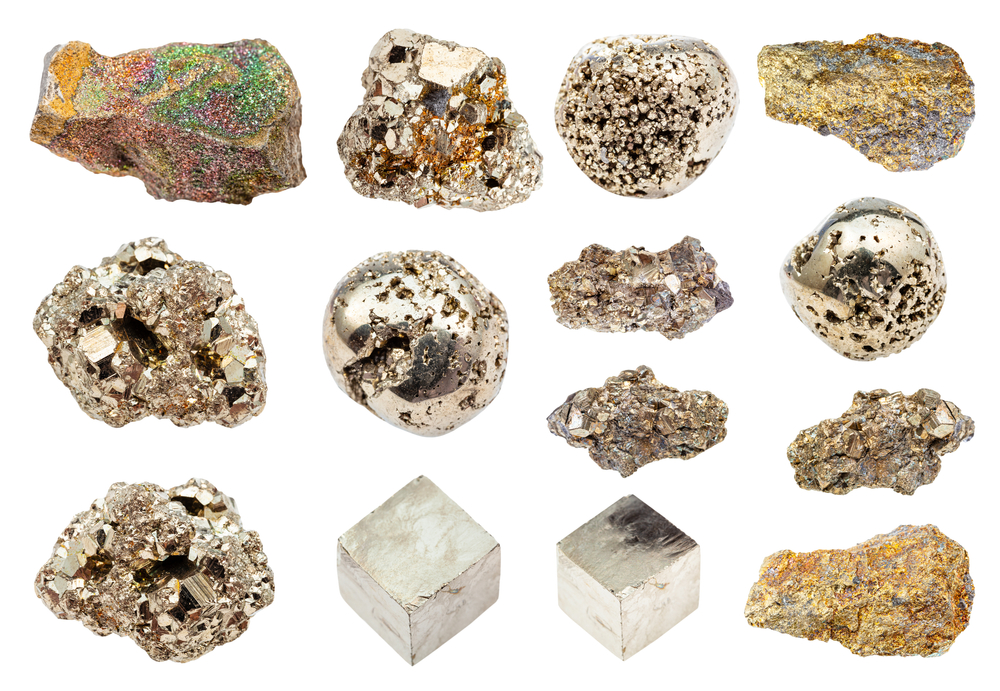 Varieties of Pyrite