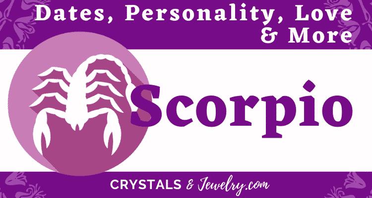 Scorpio Sign Dates Personality