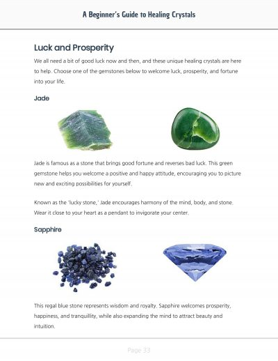 A Beginners Guide to Healing Crystals Stone Comparison